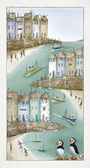High And Dry II by Rebecca Lardner - Framed Limited Edition Box Canvas